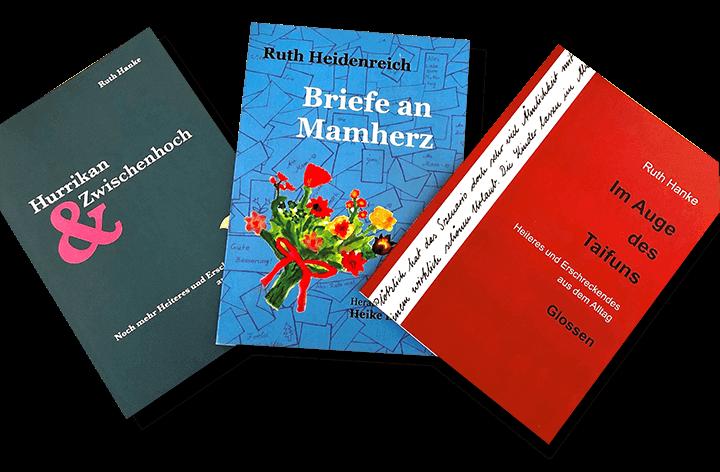 Buchwerbung