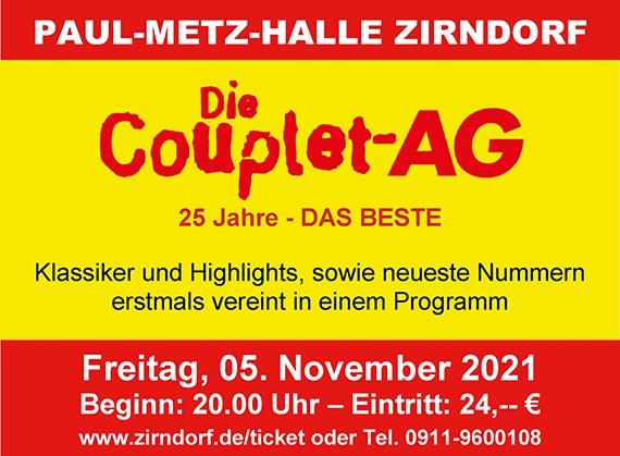 Satire-Fest mit der Couplet-AG
