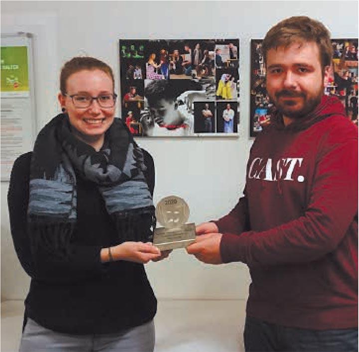 Auszeichnung für das Junge Ensemble der Klosterhofspiele