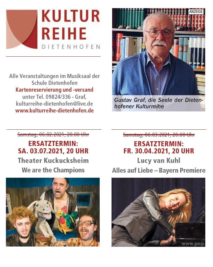 Kulturreihe Dietenhofen