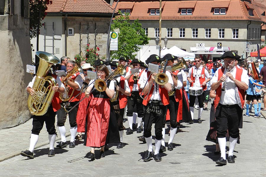 Kirchweih in Langenzenn