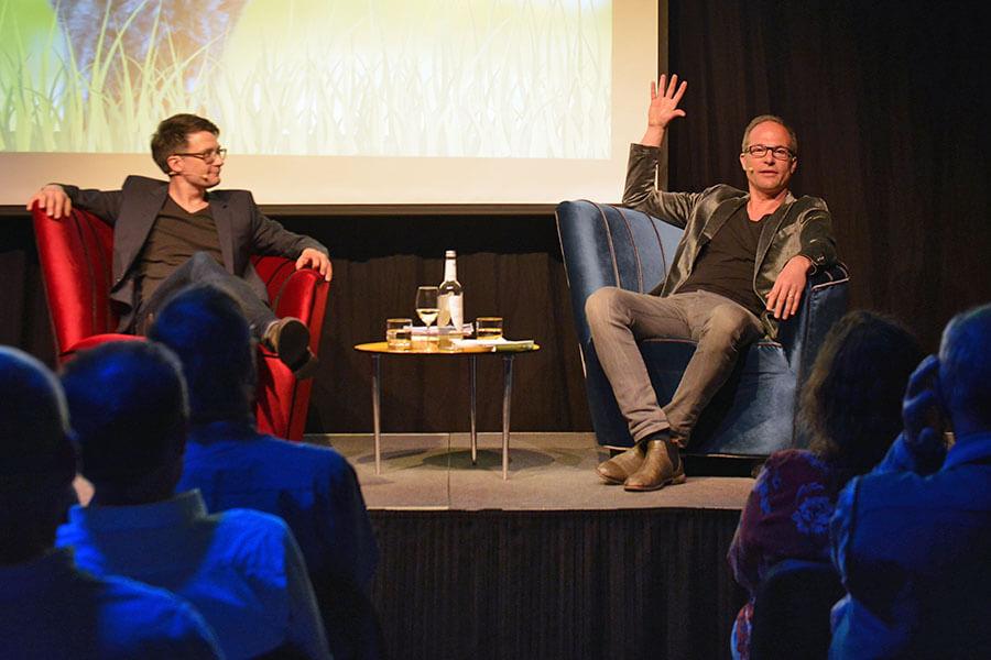 Maxim Leo und Jochen Gutsch
